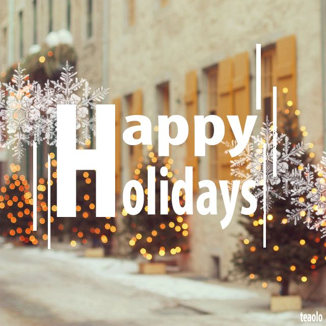 Holidays are coming!!
