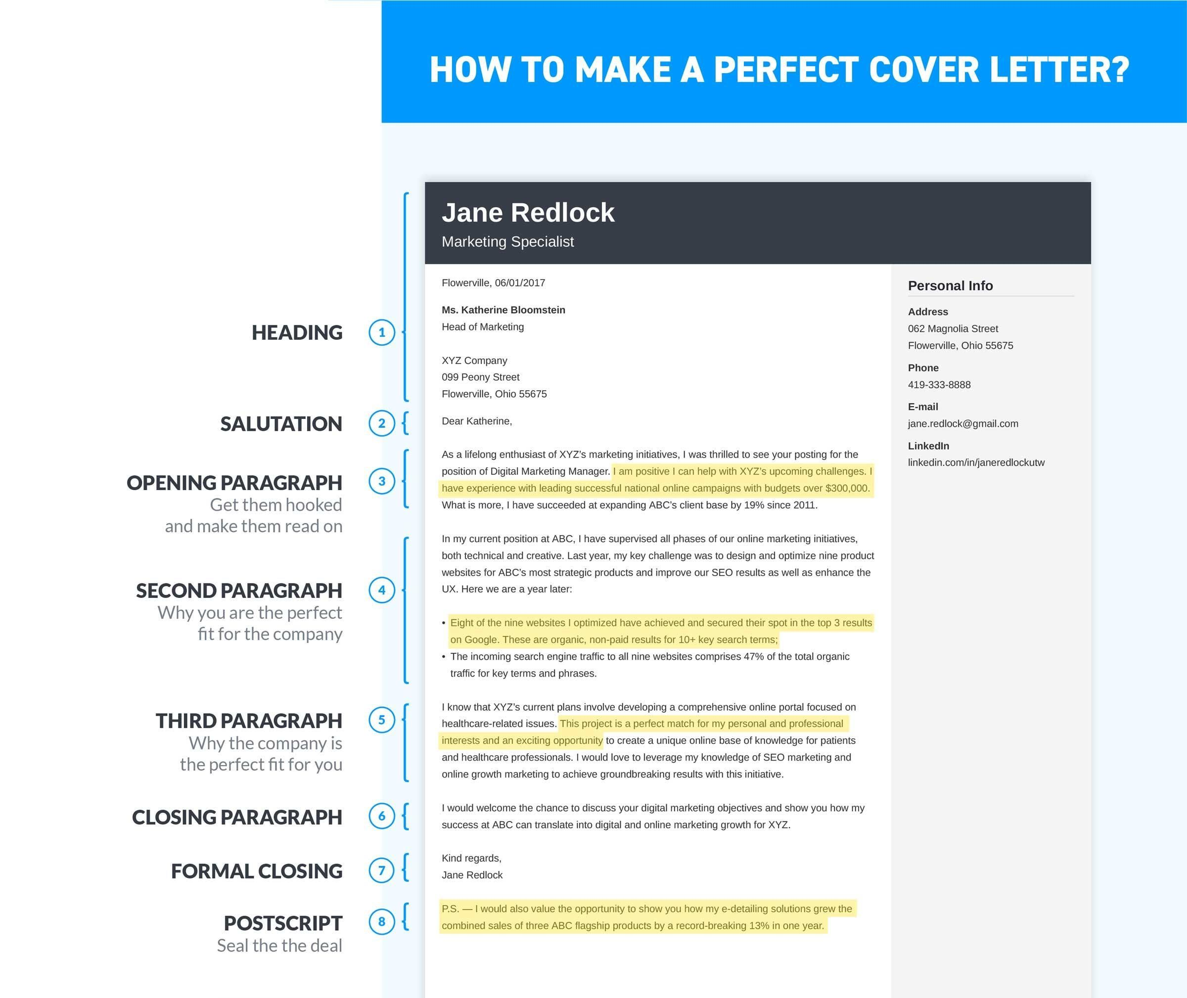 Steps To Make A Resume 30 Cover Letter Resume Cover Letter Resume How To Write A Cover