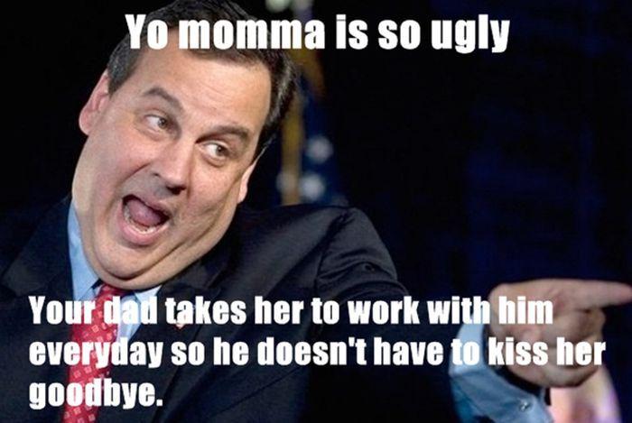 So jokes mums ugly Yo Mama