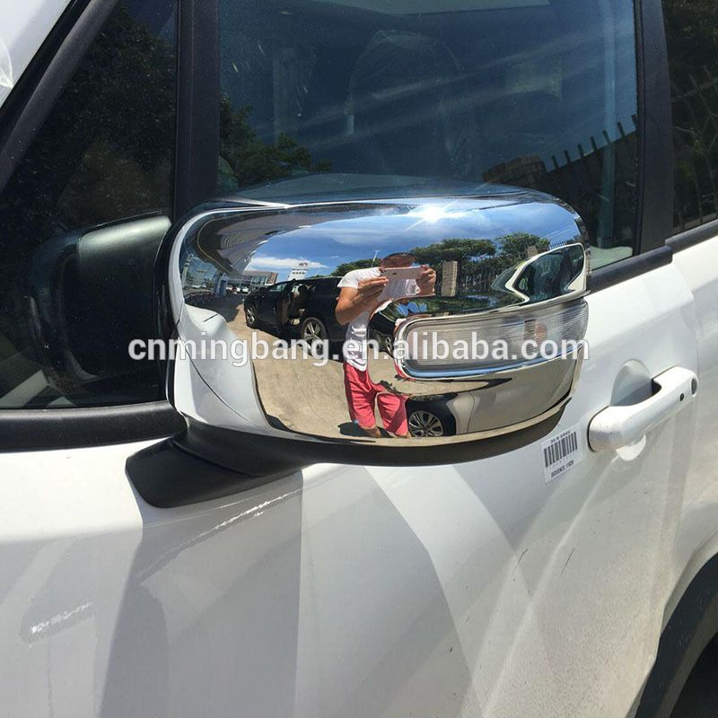Abs Chrome Side Door Mirror Cover For Jeep Renegade 2016 New
