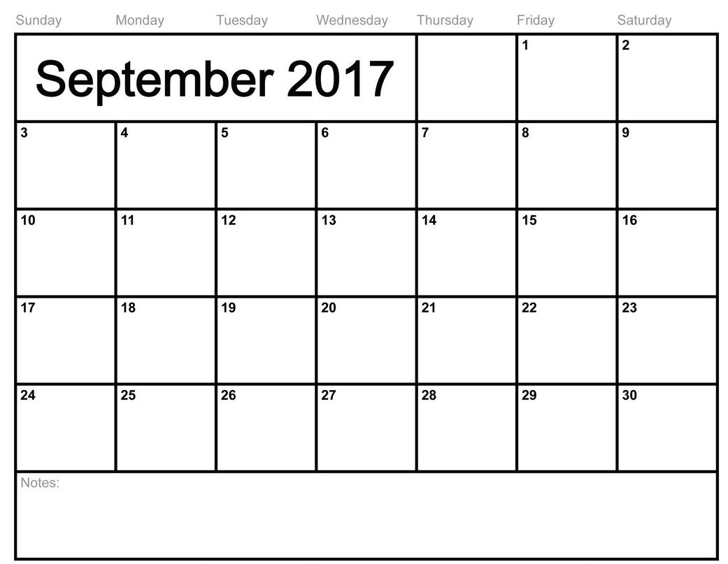 Calendar September 2017 Australia – Goutalu | invoice ...