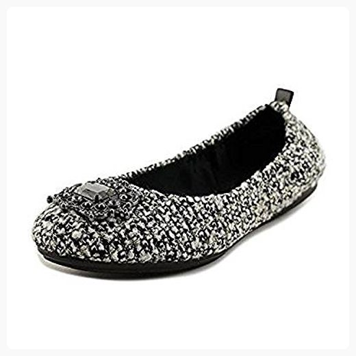Easy Spirit Womens Georgetta Closed Toe Ballet Flats Blk M/Blk Size 7.5