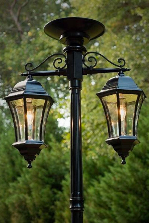 Update 72 Solar Lamp Post Lights Outdoor Triple Head Solar Lamp Outdoor Street Vintage Solar Post Light In 2021 Lamp Post Lights Solar Lamp Post Outdoor Lamp Posts