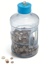 Super Size Giant Coin Counting Bank Counting Coins Digital Coin Money Jars