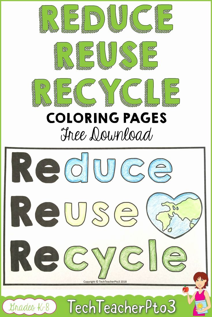 Easily Reduce Reuse Recycle Free Coloring Pages Download This Recycle Worksheets For Kinde In 2021 Kindergarten Worksheets Kindergarten Worksheets Printable Worksheets