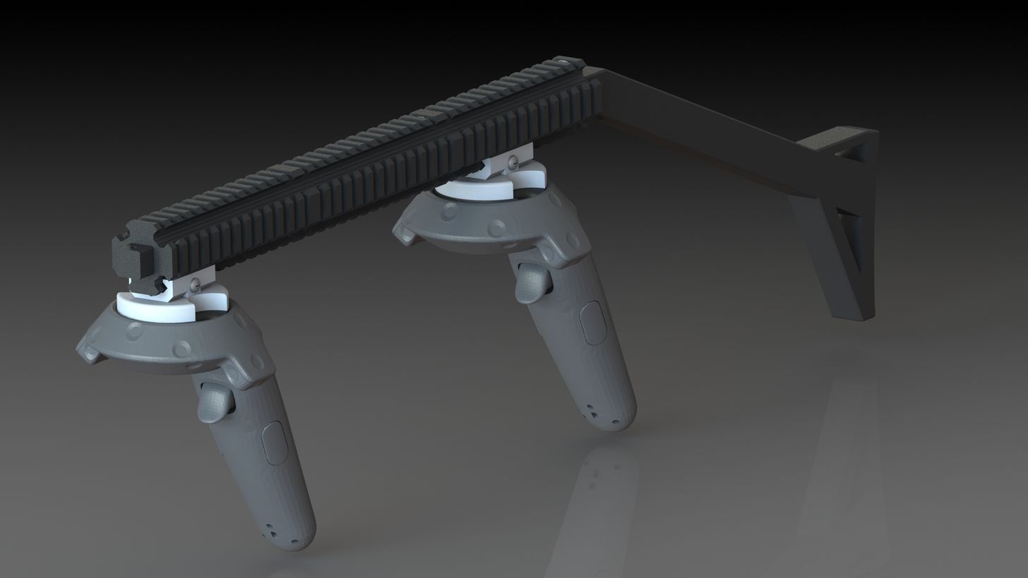 Magnetic Onward Rifle Stock | VR | Rifle stock, Magnets