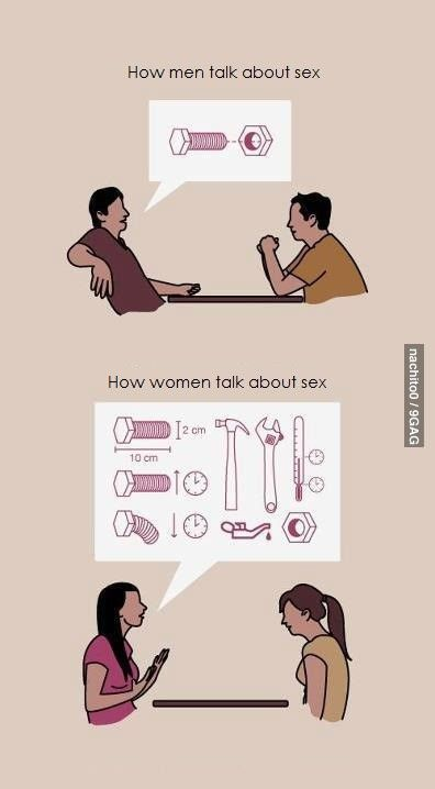 Guys talk to girls about sex