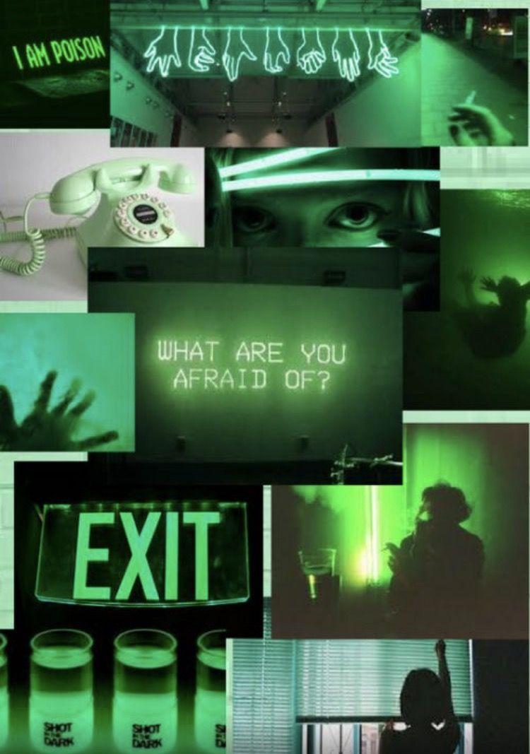 Katarina Collage By Miss Katarina Dark Green Aesthetic