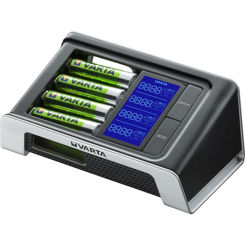 Varta Ultra Fast Aa Aaa Lcd Battery Charger Battery Charger Charger Lcd