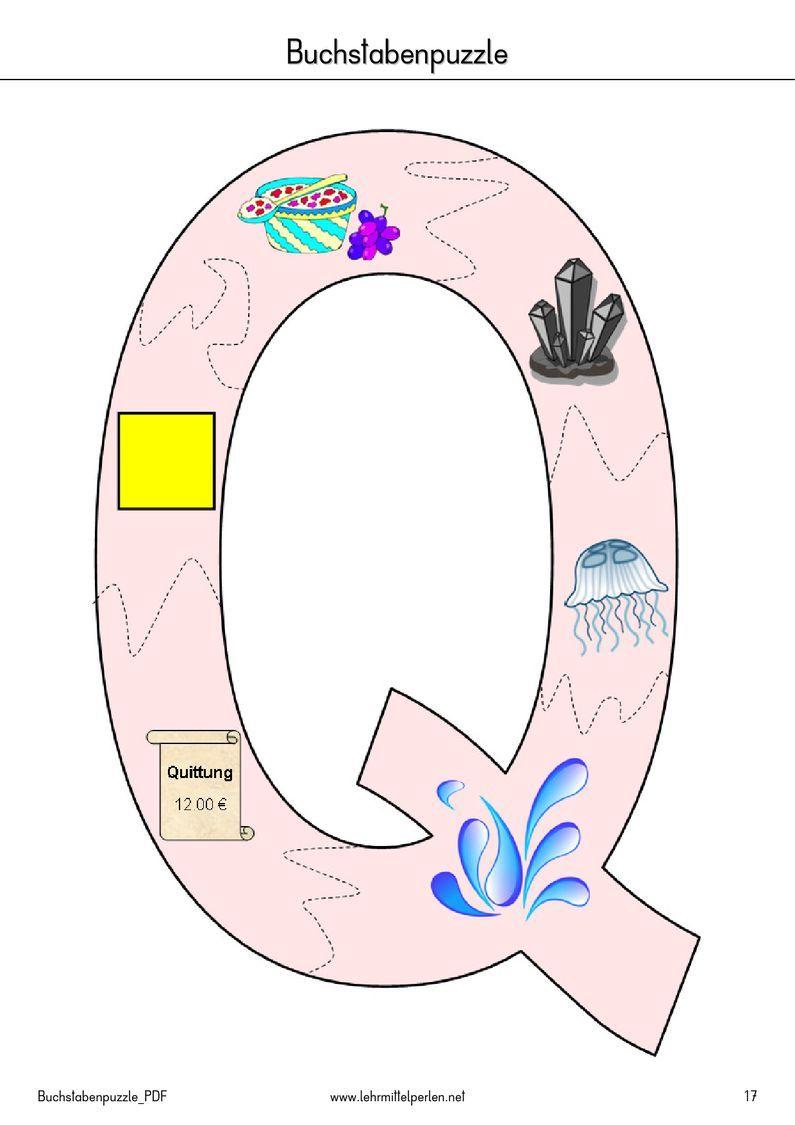 Buchstaben-Puzzle | PDF to Flipbook | raides | Pinterest | Pdf ...