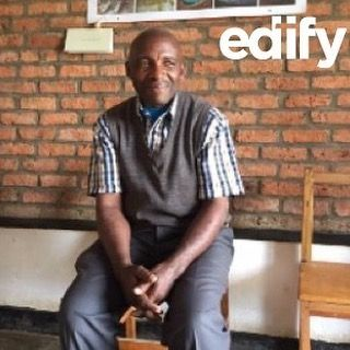Meet Charles Sinamenye. He is the proprietor of Umuco Mwiza and has worked in education for over 42 years and believes that raising children is his calling. Umuco Mwiza has started using the Edify Curriculum and they have already begun seeing results. By encouraging Christian values, Charles' school has seen less fighting and more love among the children. He believes that teaching children about Christ from a young age encourages their character development now so they can be great leaders…