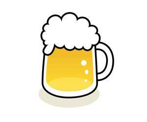 ビールのイラスト イラスト無料配布 商用利用可 リンクフリー Frogs Art ビールのイラスト画像 夏 Naver まとめ Diy Wedding Glassware Illustration