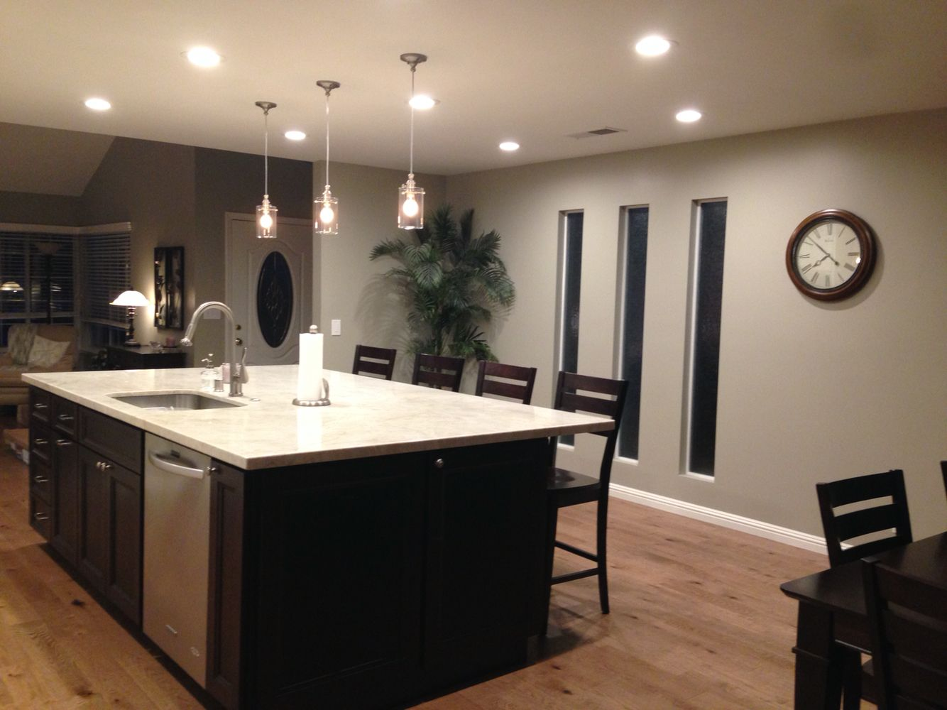 My kitchen after remodeling sherwin williams analytical - Paint colors for living room and kitchen ...