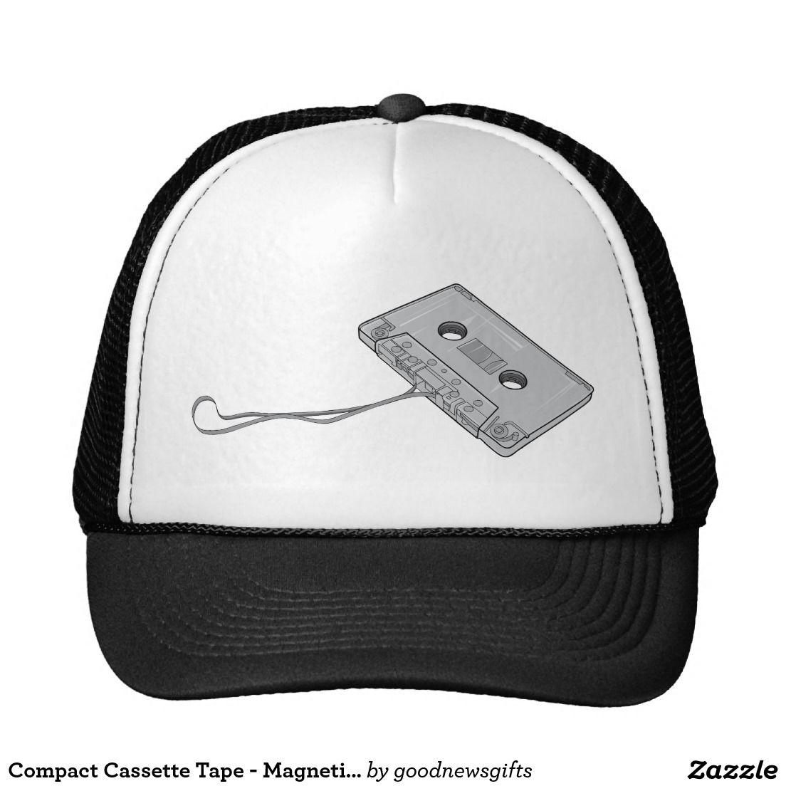 Cassete de banda magnética compacta - fita magnéti boné