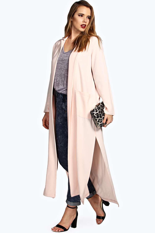 9e658168b8a9 Plus Size Mia Duster Coat