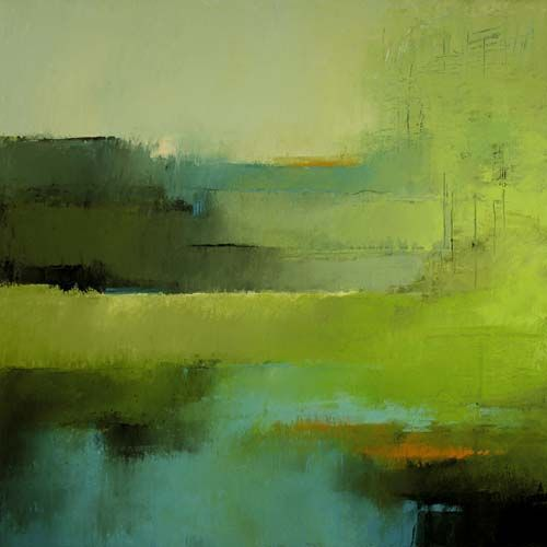 Irma Cerese Landscape ArtLandscape PaintingsGreen LandscapeAbstract