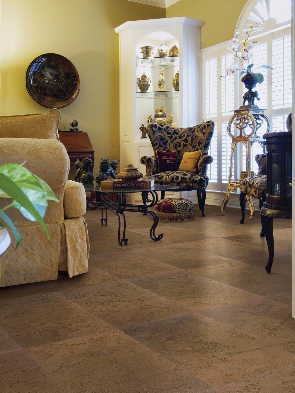 Cork floors cork flooring options and decorating cork floors dailygadgetfo Choice Image