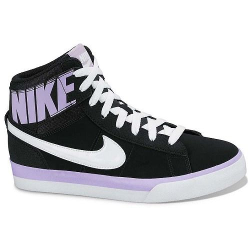 855eabfca8f8  62.00 Nike Black Match Supreme High-Top Shoes  Grade School Girls ...