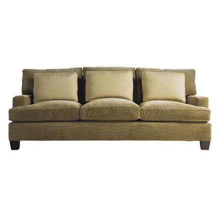 Baker Furniture : Loose Back Sofa   830 86 : Barbara Barry : Browse Products