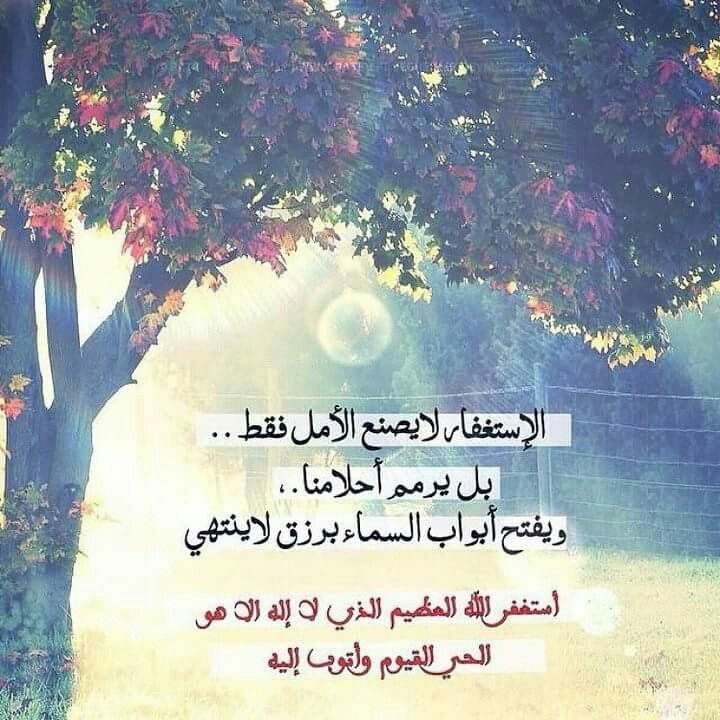 أستغفر الله ربي وأتوب إليه Islamic Quotes Words Islam