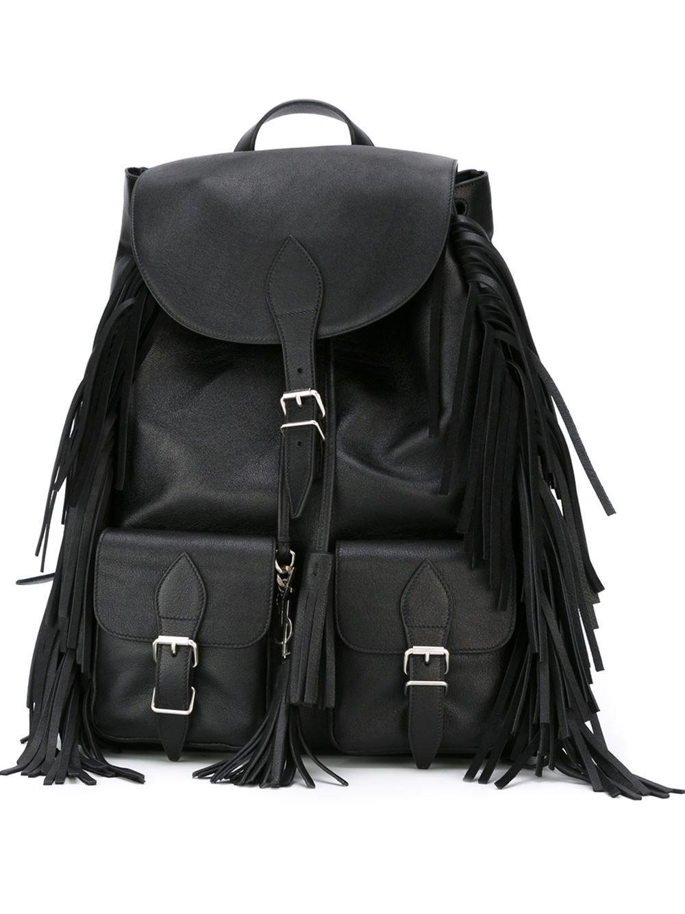 fc4b561f Saint Laurent 'Festival' backpack | SHOPAHOLIC | Festival backpack ...