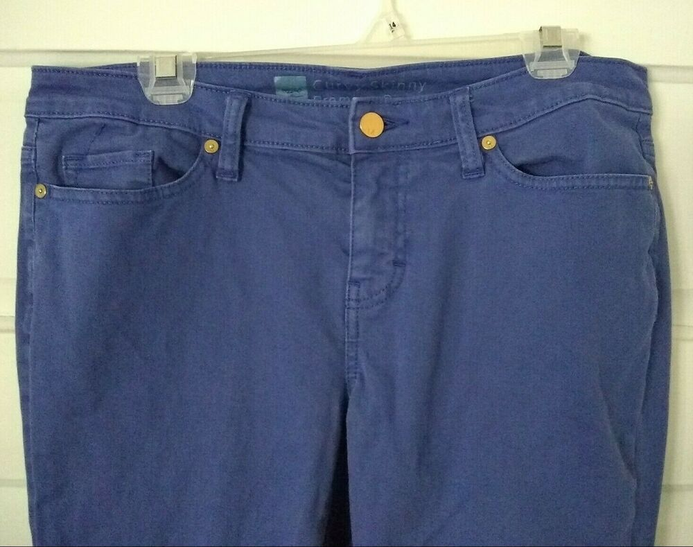 Women's Mossimo Jeans Skinny Mid Rise Jegging Light Blue Size 10 Short New