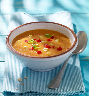 Photo of Paprika-Mais-Suppe