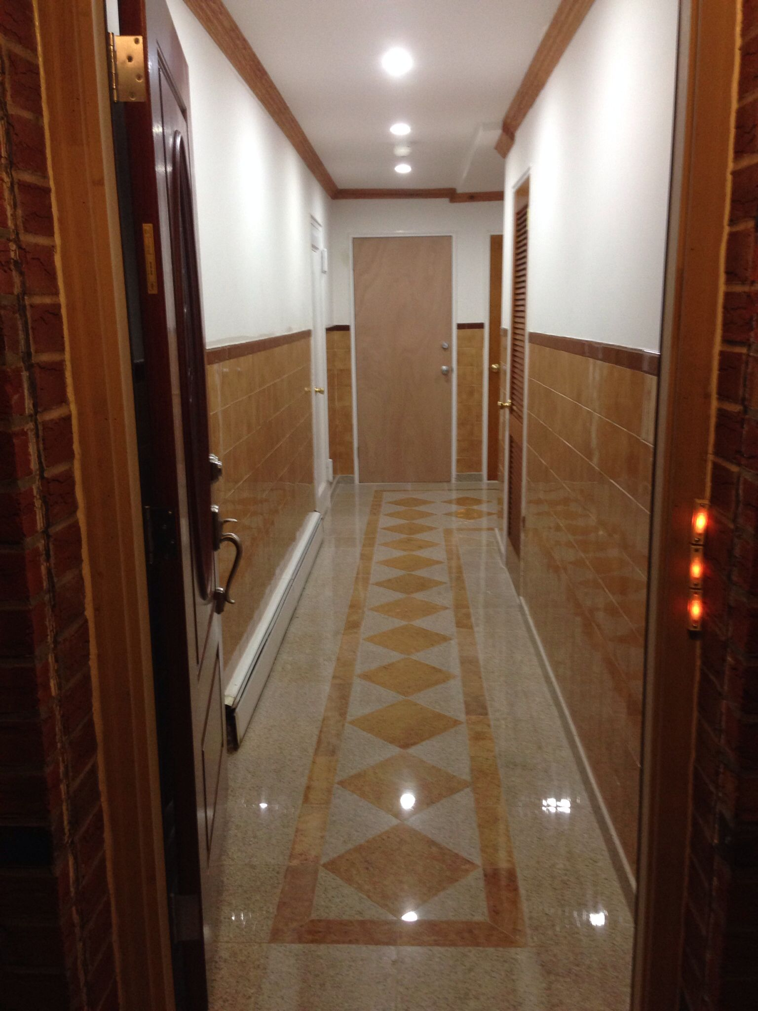 Hallway Granite Tile Design Pinterest