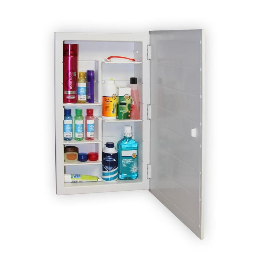 Zaca Spacecab 16 In X 26 In Rectangle Recessed Mirrored Medicine Cabinet Lowes Com Recessed Medicine Cabinet Bathroom Medicine Cabinet Modular Shelving