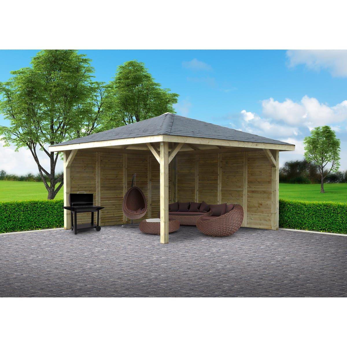 Epingle Par Barbara Prevost Sur Jardin En 2020 Kiosque Kiosque Jardin Toiture En Bois