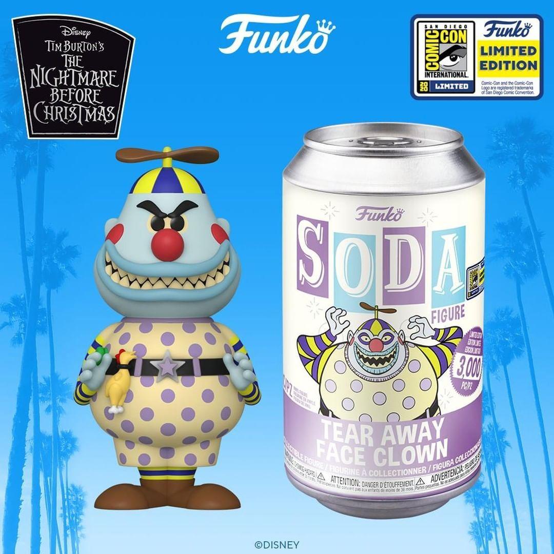 """Comic Con 2020 Nightmare Before Christmas Funko Pop Funko on Instagram: """"Funko SDCC 2020 Reveals: Funko Vinyl Soda"""