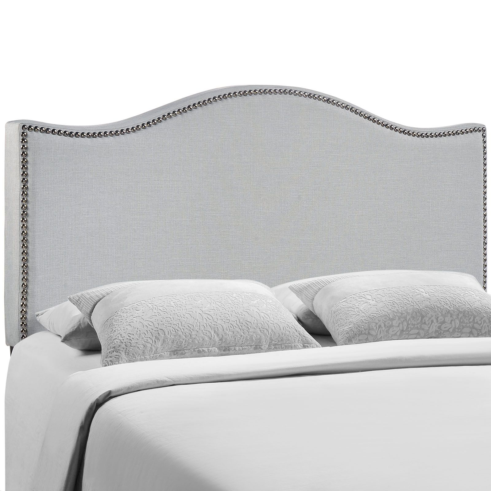 Curl Queen Headboard MOD-5206-GRY by LexMod | Decoraciones ...