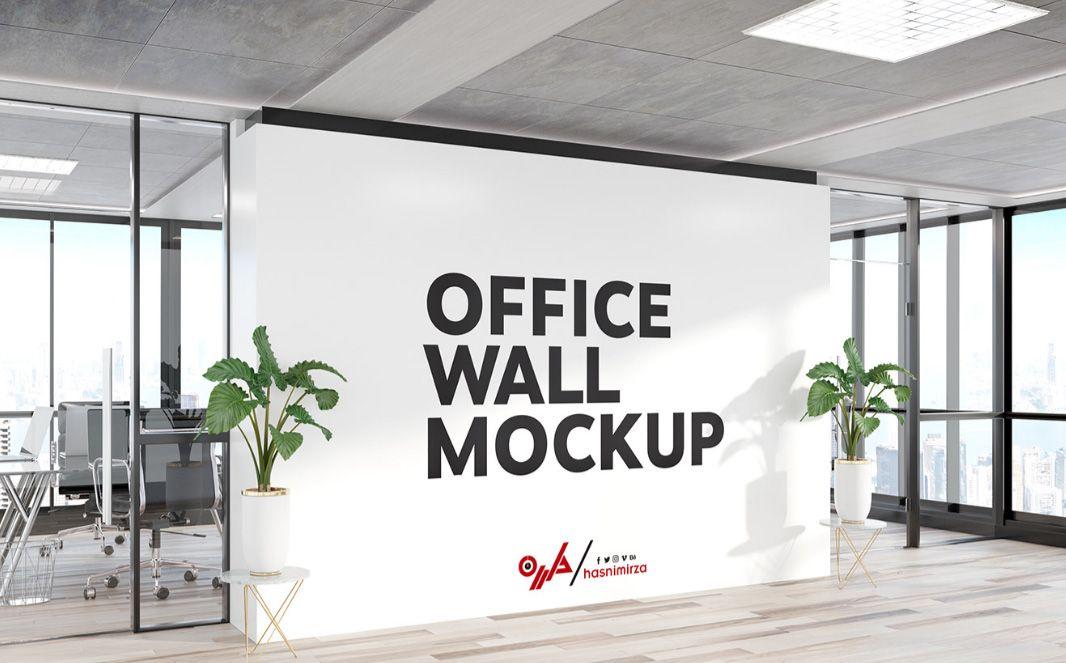 Free Interior Wall Art Mockup Design Mockup Free Interior Walls Office Walls