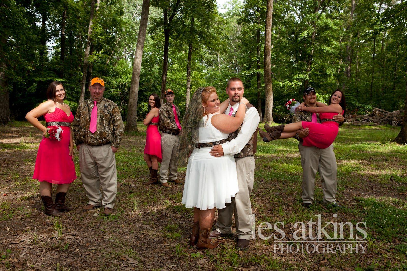 Camo Theme Wedding Hunting Wedding North Carolina Wedding