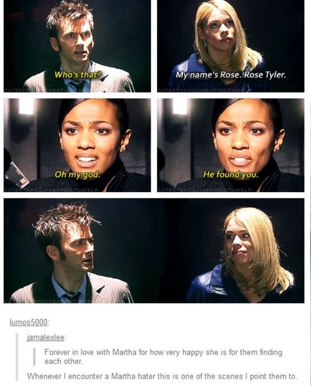 Think about it though. When Rose met Sarah Jane, the Doctor had never mentioned ... -  Think about
