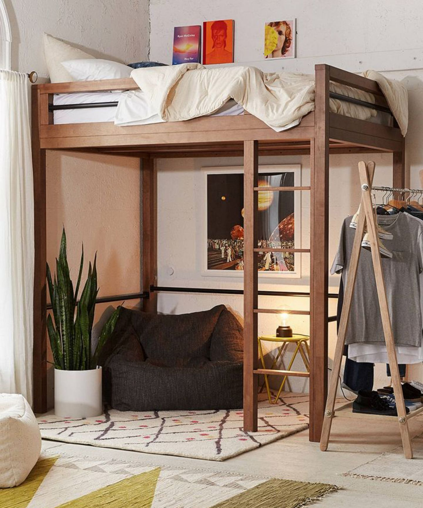 7 decorating ideas for your grown up loft bed lofted - Small beds for adults ...