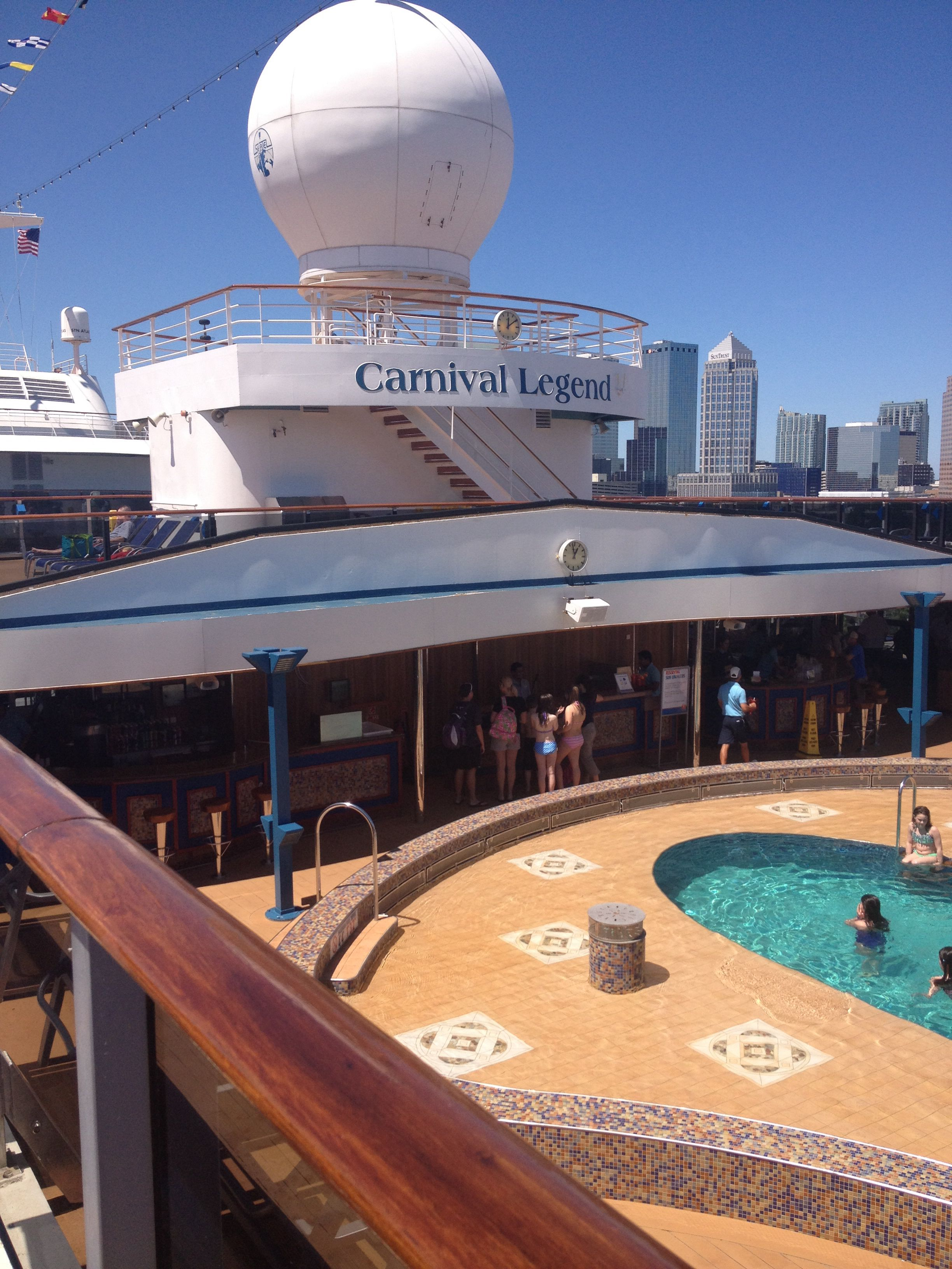 Carnival Legend - What A Great Time