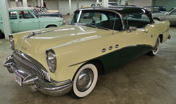 1954 Buick Special Riviera Buick Buick Cars Classic Cars