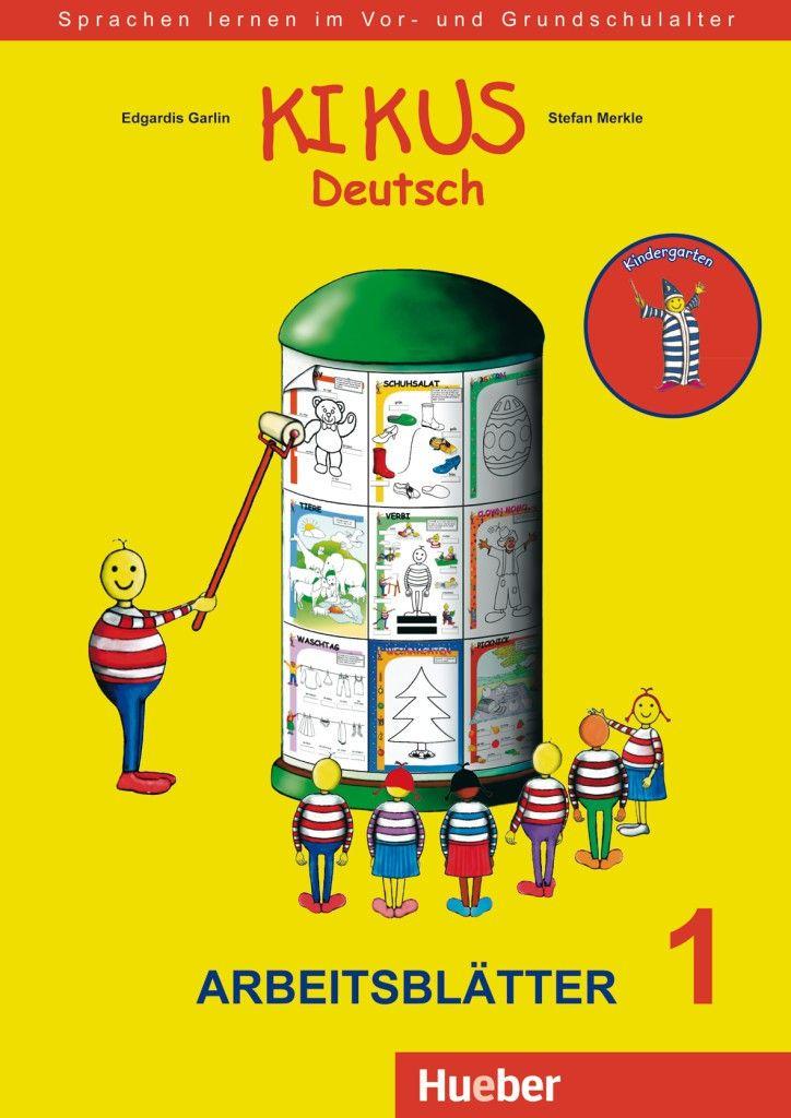 Hueber KIKUS Deutsch / Arbeitsblätter 1 (3 bis 5 Jahre) | Deutsch ...