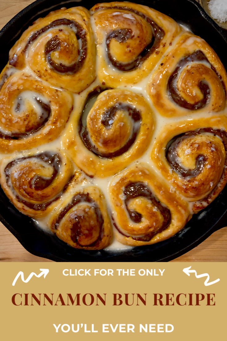 This recipes makes 9 not-too-sweet yet gorgeously fluffy rolls. They are filled with cinnamon-date puree and covered with a gooey, tangy glaze. This combination captures all that sticky bun glory while accenting each pillar of flavor: salt, fat, acid and heat. Grab some coffee, you'll want to savor this moment. #cinnamonbuns  #cinnamonrolls #breakfastofchampions #cookingwithkids #seasonal #wholefood #eatwithyoureyes #cookingfromscratch #comfortfood #recipeoftheday  #breakfastrecipes