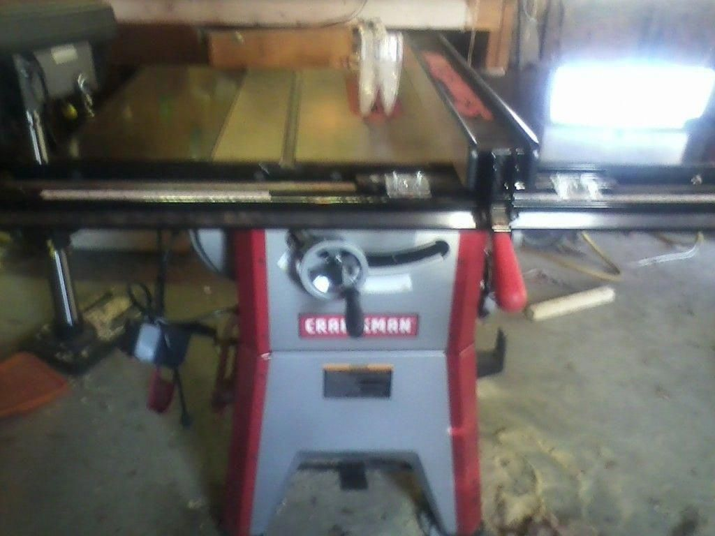 Craftsman 22124 Table Saw
