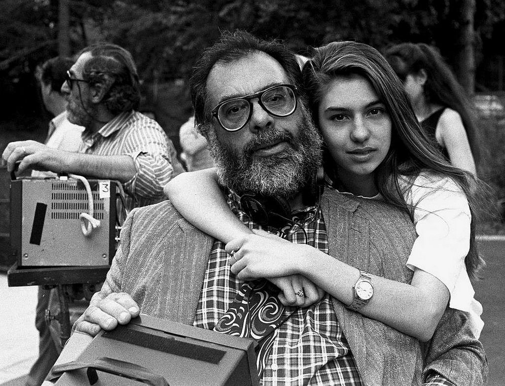 Francis Ford Coppola and Sofia Coppola • By Brian Hamill | Sofia coppola, Francis  ford coppola, Movie directors