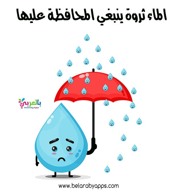رسومات عن الاسراف في الماء للاطفال أهمية الماء في الحياة بالعربي نتعلم In 2021 Umbrella Lae