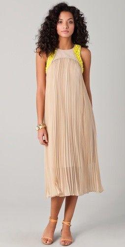 DIY Pleated skirt turn fancy dress:) #Fashion