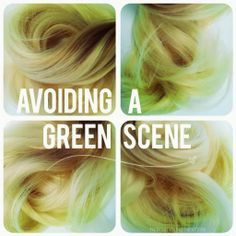 The best way to avoid green hair. Yeah, and the ONLY reason I'm pinning this is because green hair is not very nice looking......not that I would know right....? :p