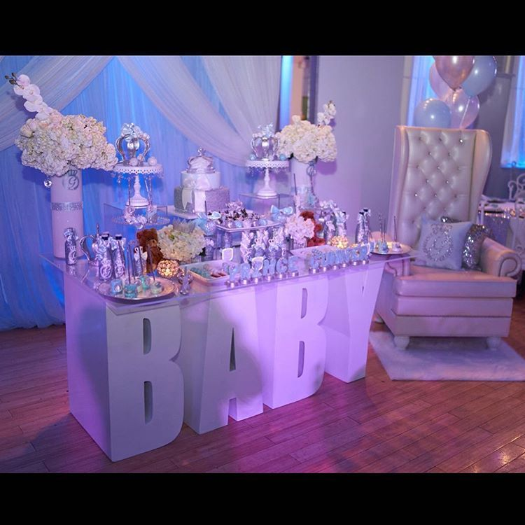And What A Beautiful Baby Shower It Was👶🏽❤ Decor: Table Rental: Chair And  Backdrop: Bottles,u2026u201d