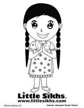 Sikh Coloring Page