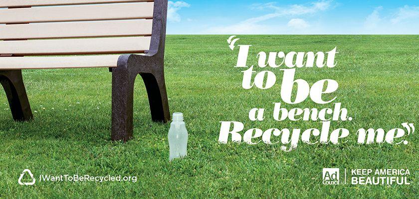 Risultati immagini per recycle advertisement