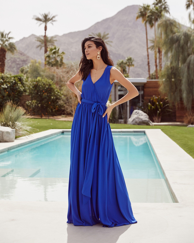 Diana Sleeveless Maxi Dress Ocean Blue Vici Sleeveless Maxi Dress Dresses Maxi Dress [ 3000 x 2400 Pixel ]