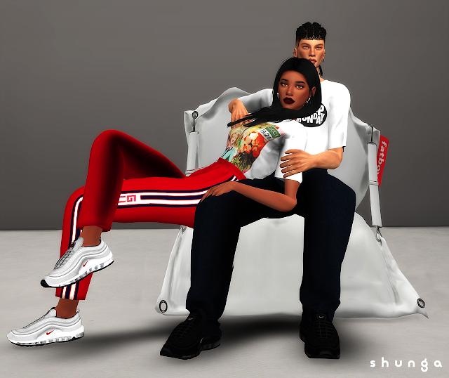 cc sims 4 basket femme nike